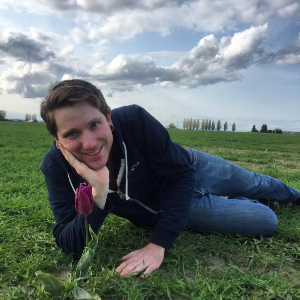 Me In Tulip Field
