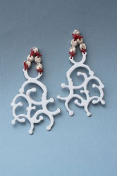 "Laurent Danielle ""A love letter to 1756 – gem with filigree earrings"""