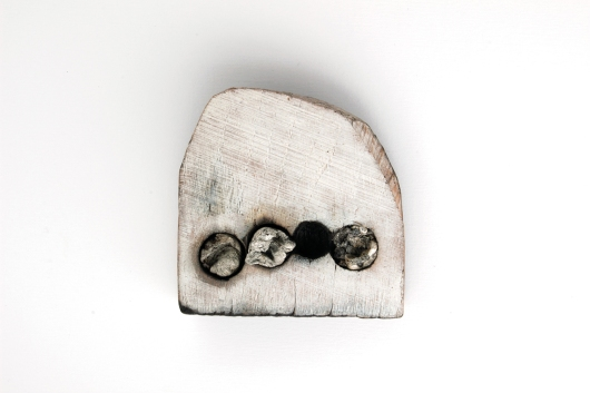 "Nina van Duijnhoven """"What is to give light must endure burning."" - Viktor Frankl Brooch 3"""
